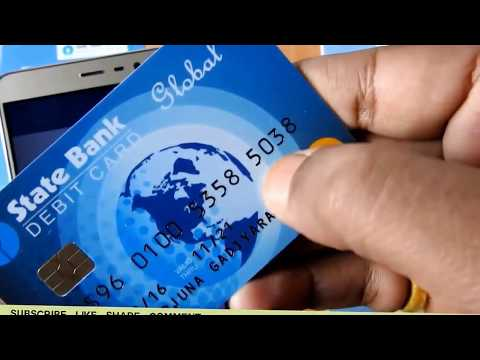 How to Generate ATM PIN Through SMS State Bank of India   YouTube