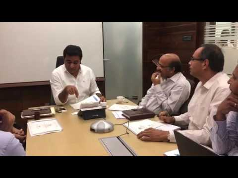 Telangana minister KTR review on T walet