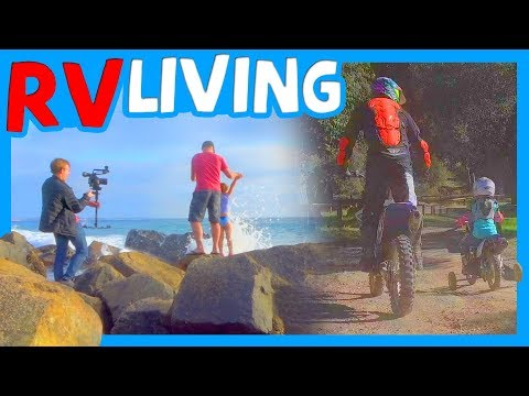 🏖 RV LIVING SAN DIEGO ADVENTURE WITH CAMPING WORLD 🗺 FAMILY DIRT BIKE RIDE AT CORRAL CANYON OHV