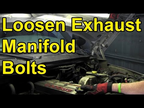 How to Loosen Stuck Exhaust Manifold Bolts (Quick Tip) 🔧