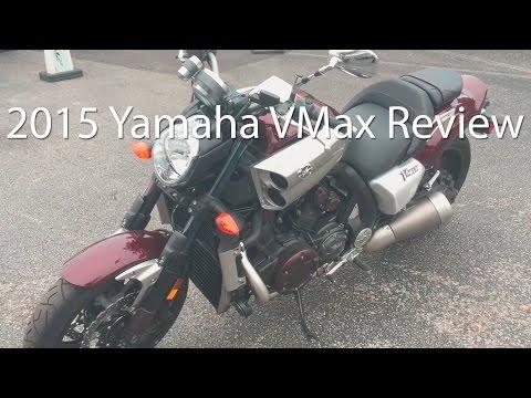 2015 Yamaha VMax Motorcycle Review Ride