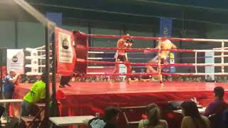 "Jesus Ortiz""el Pistola""cerrato Vs Faisal Naimi,k-1 Profesional;don Benito(1ºasalto)"
