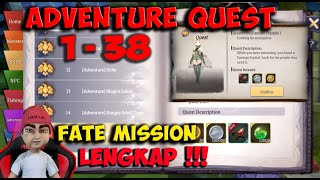 ADVENTURE QUEST  1 - 38 / FATE MISSION LIGHT OF THEL