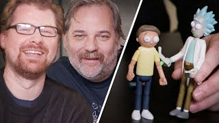 New Rick And Morty Scene With Live Commentary By Dan Harmon And Justin Roiland Omaze