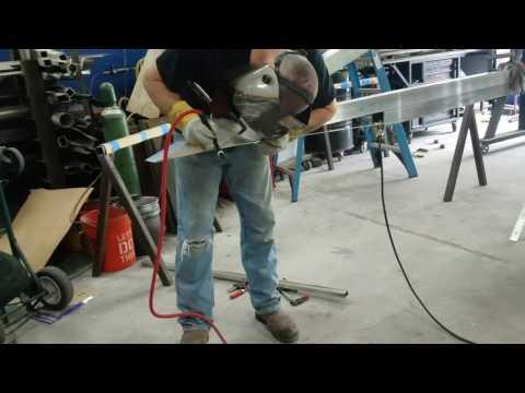 APEXISH  Aluminum awning build. Day 3.