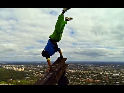 Russian Parkour and Freerunning Fail Compilation 2014