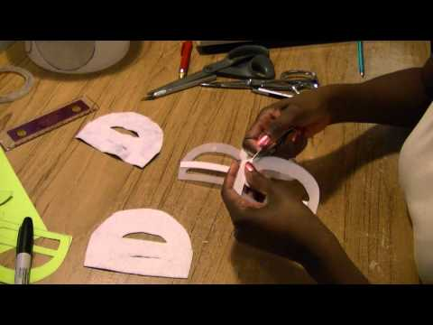 DIY Belt Buckle From Ice Cream Container - Freestyle Fridays #11