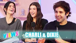 CHARLI AND DIXIE ON BEING FAMOUS SISTERS!!