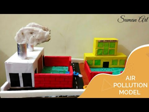 How to make an air pollution model; no. 1 for school project
