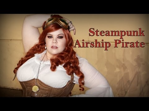STEAMPUNK! DIY Makeup & Costume Tutorial -Halloween