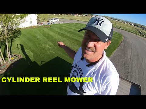 Cylinder LAWN MOWING