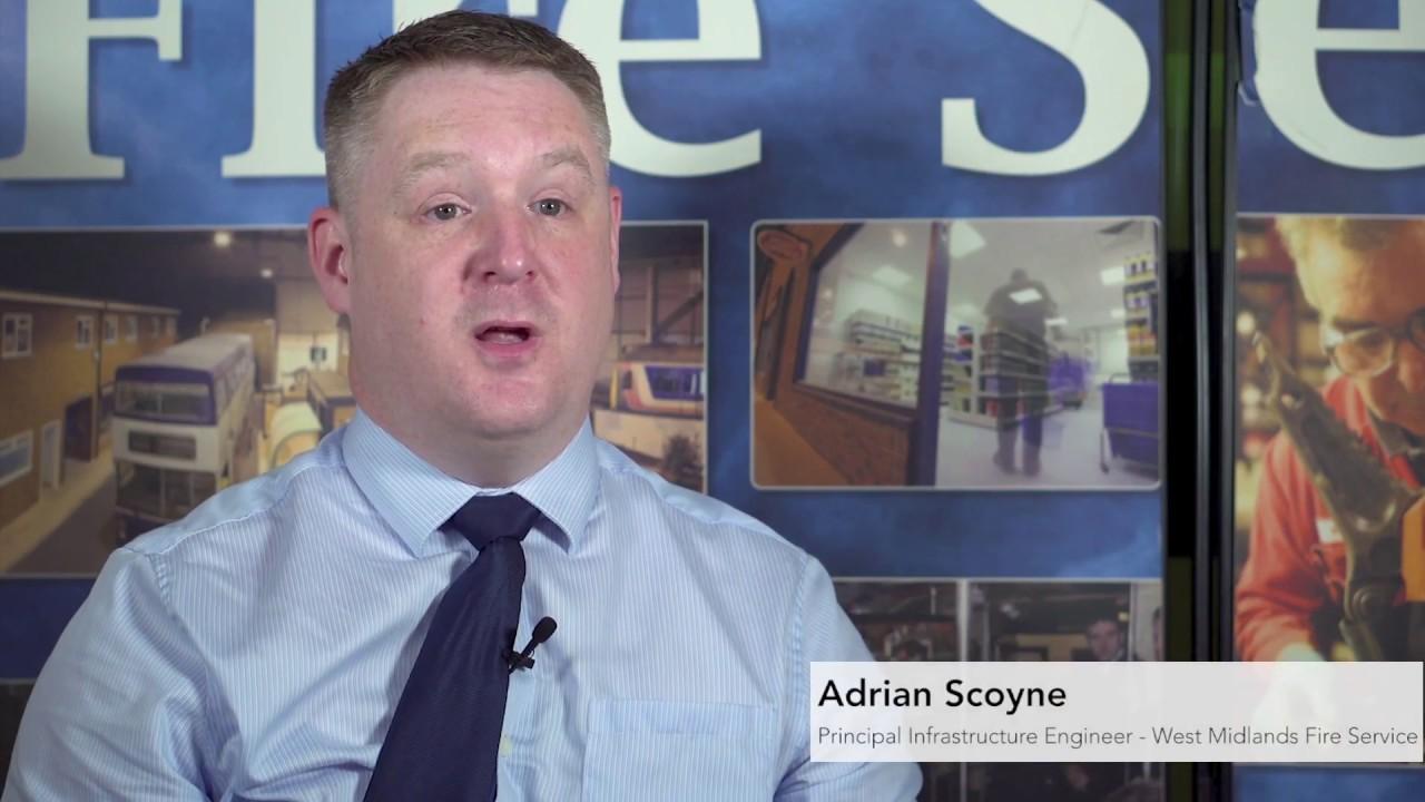 West Midlands Fire Service Testimonial