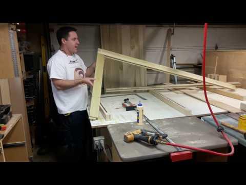 Building Double Barn Doors: Frames 2