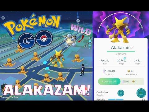 ABRA TO ALAKAZAM EVOLUTION ( ALMOST PERFECT IV ) | Pokemon Go | CATCHING WILD BLASTOISE