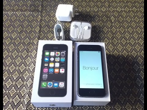 Apple Iphone 5s Unboxing India | Sim Ejector Included | (Flipkart Purchase)