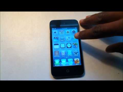 How-To: Setup Your Apple iPod Touch 4th Generation (8gb, Black)