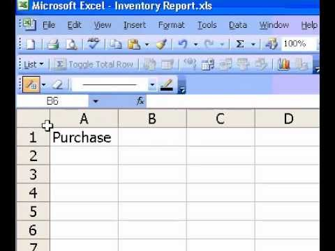 Microsoft Office Excel 2003 Apply border gridlines