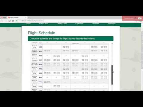 Biman Bangladesh Flight Schedule Check