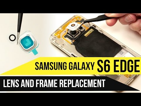 Galaxy S6 Edge Lens & Frame Replacement Video Guide