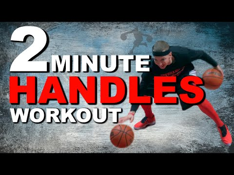 2 Minute Dribbling Drills Workout | 2 Ball Advanced Dribbling Drills For Better Handles