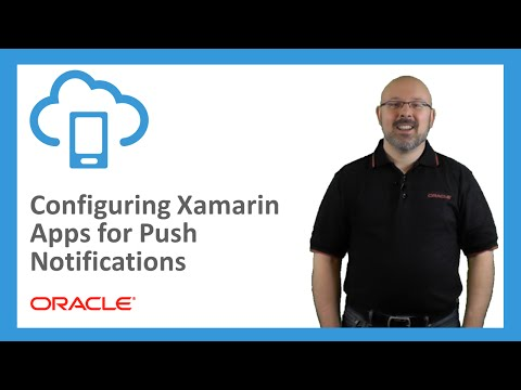 MCS: 81. Configuring Xamarin Apps For Push Notifications