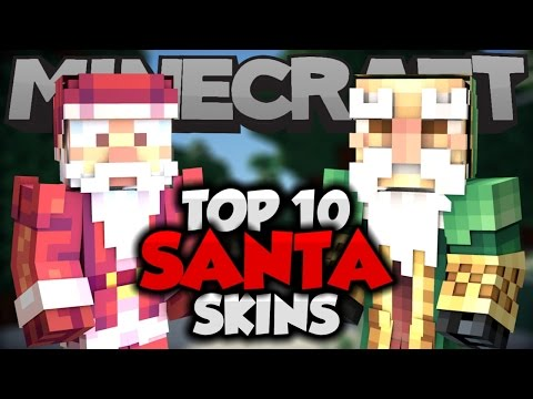 Top 10 Minecraft SANTA CLAUS SKINS! (Minecraft 1.8.8) - Best Minecraft Skins For 1.8