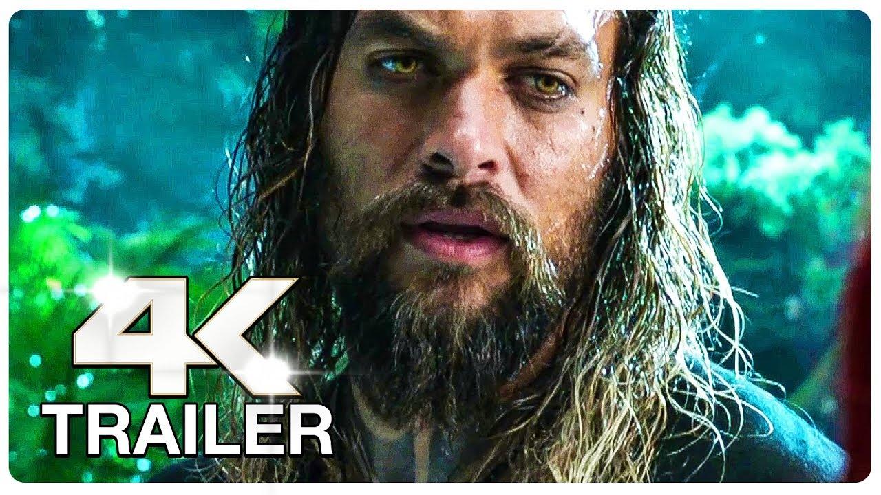 AQUAMAN Trailer 2 (4K ULTRA HD) NEW 2018