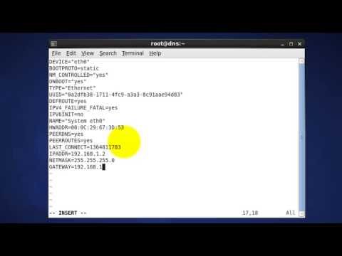 How to Install DNS (BIND) on CentOS -- Prerequisite