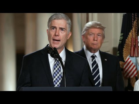 McConnell moves ahead with blocking Gorsuch filibuster