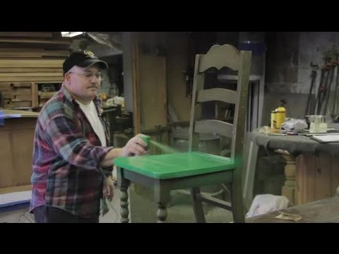 How to Stop Brush Strokes When Painting Furniture : Furniture Repair & Refinishing