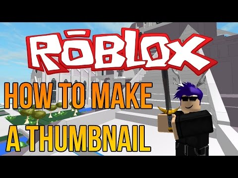 Roblox: How to make a Thumbnail in Paint.NET! (Full Tutorial)