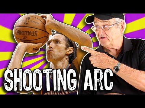 Get PERFECT Shooting Arc!!!  (How to shoot a basketball) -- Shot Science Basketball