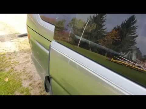 2001 Honda Odyssey manual sliding door fix