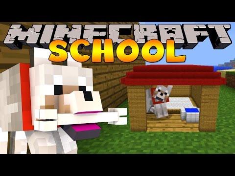 Minecraft School : PET DOGGY TRAINING!