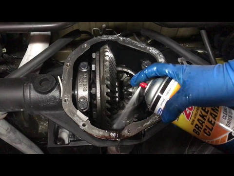 How to change Differential Fluid (Jeep Wrangler, jk)