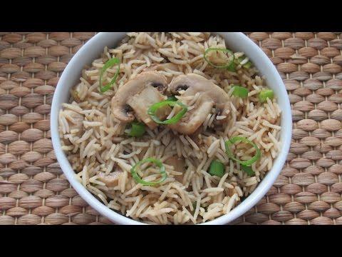 Mushroom Fried Rice | Vegetarian Recipe | Quick & Easy Recipe