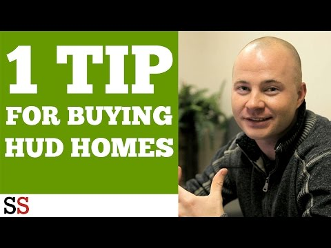 1 Tip for Buying HUD Homes