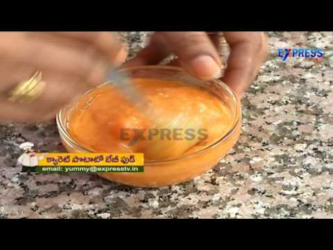 Carrot Potato Baby Food - Yummy - Express TV