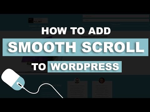 How To Add Smooth Scroll To Your Wordpress Website