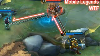 Mobile Legends WTF | Funny moments PRO Franco double HOOK