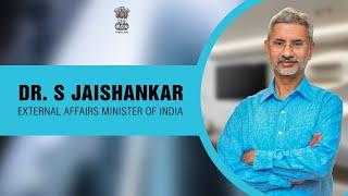 Conversation With Foreign Minister Subrahmanyam Jaishankar of India