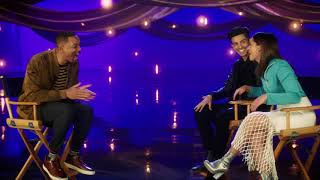 Download WILL SMITH Interviews Aladdin's Naomi Scott & Mena Massoud Video