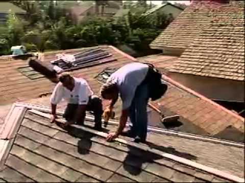 Decra steel metal shingles - installing hip & ridge cap - p10