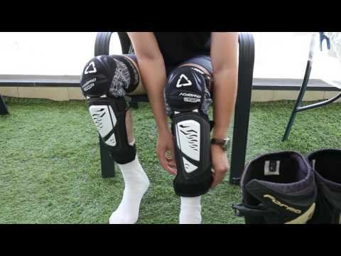 Leatt Knee & Shin Guard 3DF Hybrid EXT