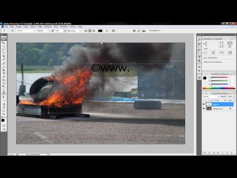 Photoshop watermark tutorial