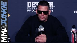 UFC 241: Nate Diaz full post-fight interview