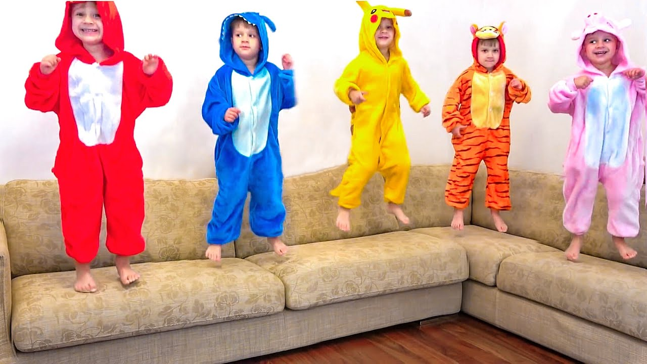 Five Little Monkeys + More Nursery Rhymes & Kids Songs   Diana Roma Show