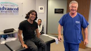 Houston Chiropractor Dr J Loves Introducing Patients To First Time Chiropractic Adjustments Like SA