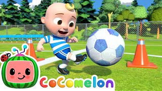 Soccer Song (Football Song)   CoComelon Nursery Rhymes & Kids Songs