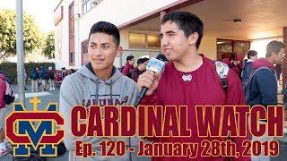 Cardinal Watch: ep. 120 - January 28th, 2019